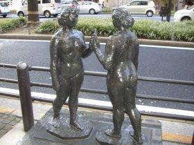 御堂筋の彫刻 2