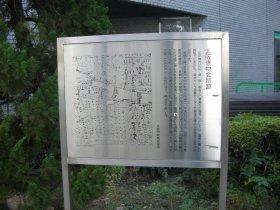 大阪俵物会所跡の案内